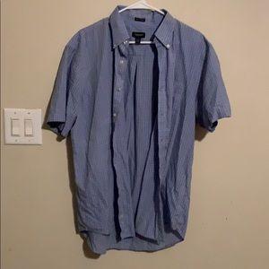 Men's Short Sleeve Button Up